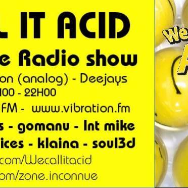 Flyer Radio Show Zone Inconnue