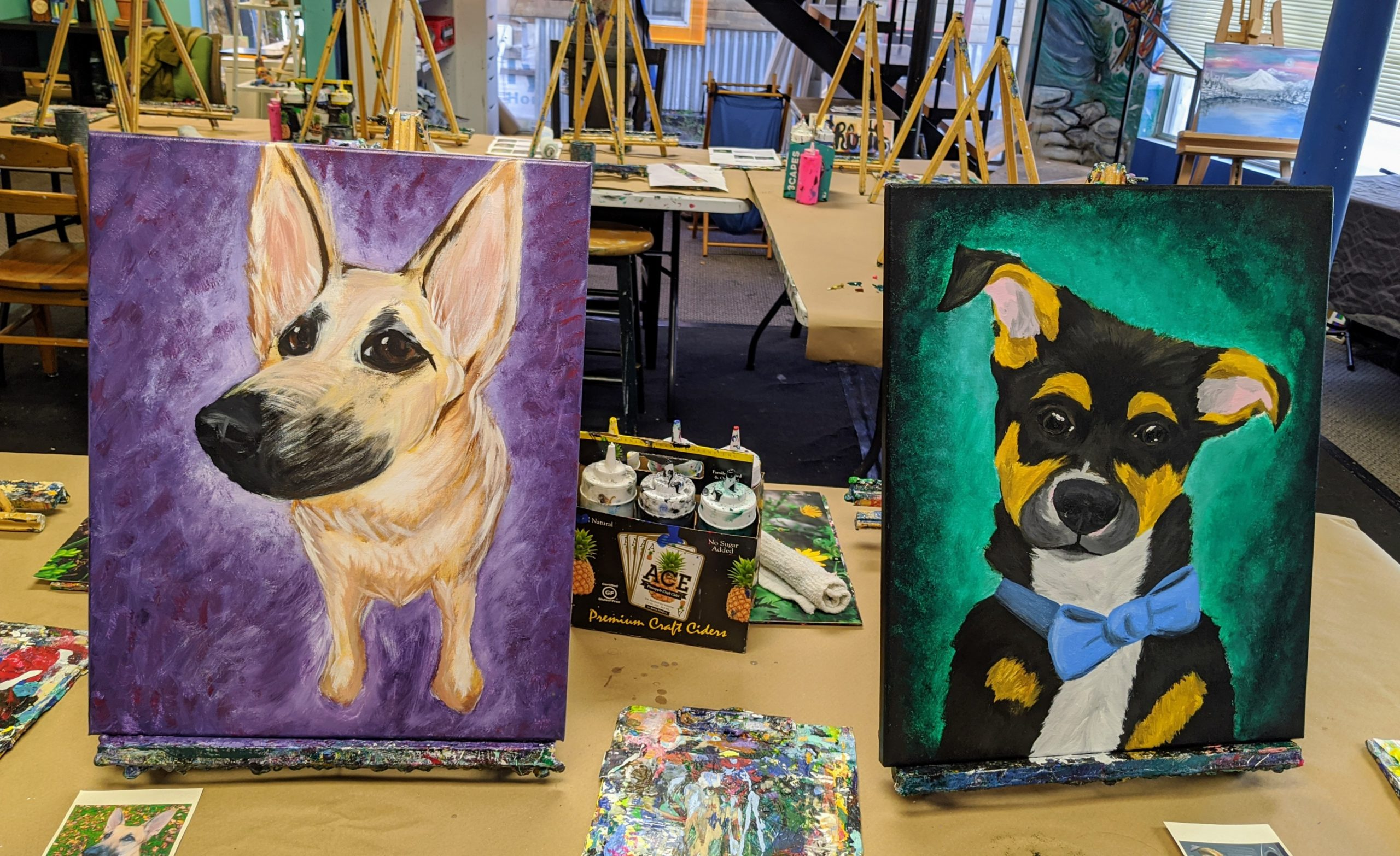 Paint-Your-Pet @ The Loaded Brush Paint & Sip | www.loadedbrush.com