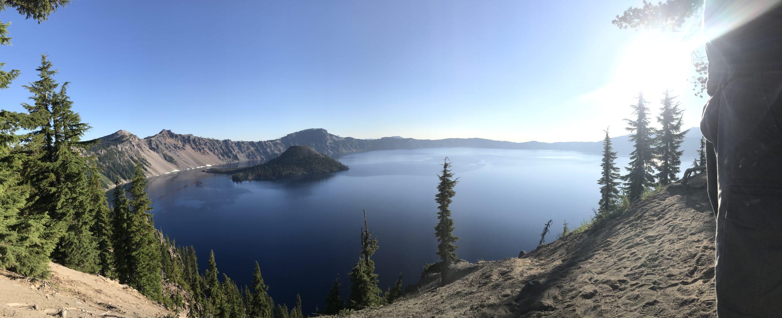 Crater Lake 0719 | The Loaded Brush Paint & Sip Classes | loadedbrushpdx.com