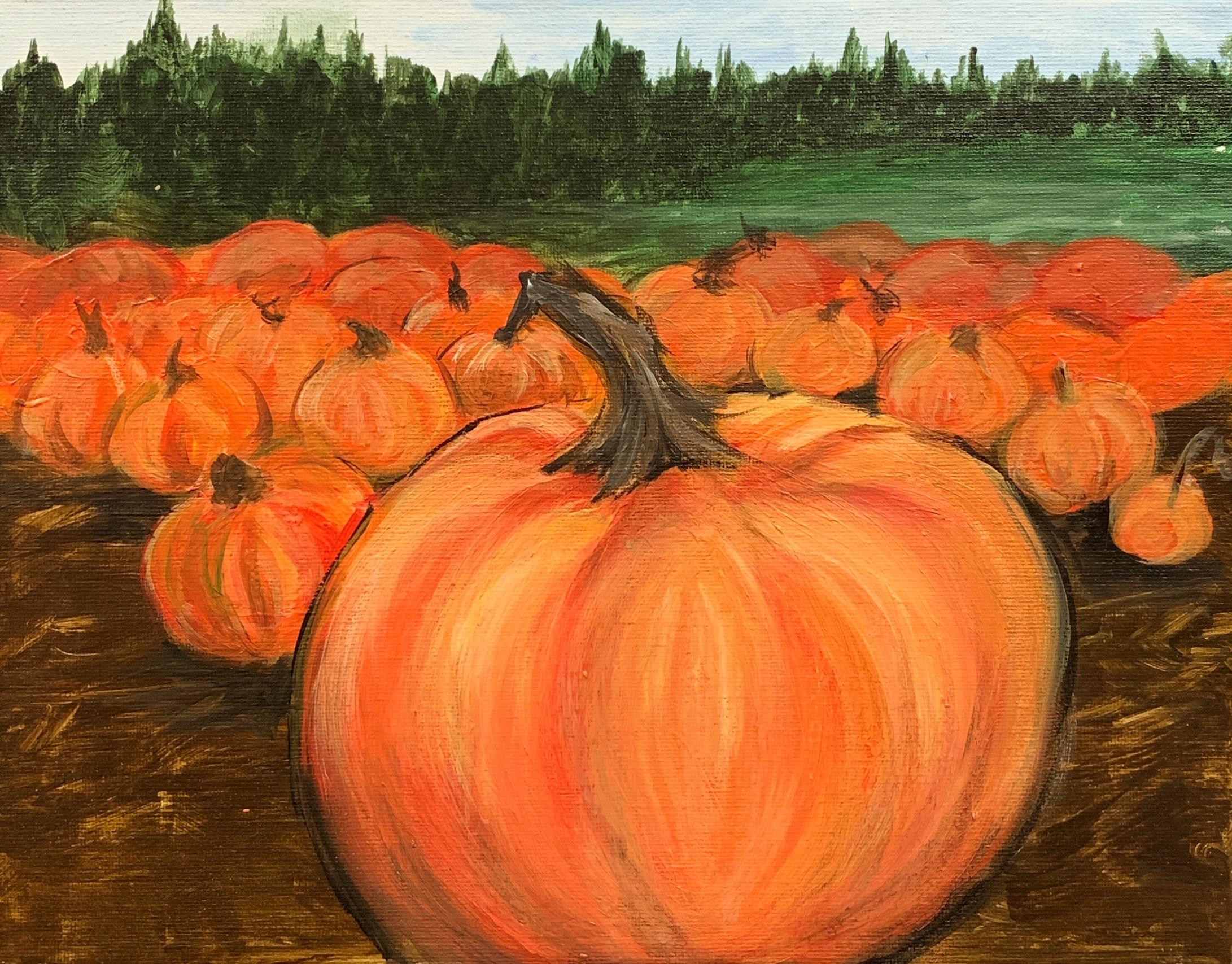 Harvest Pumpkins   www.loadedbrushpdx.com