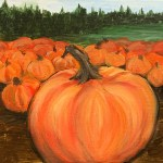 New Painting ~ Harvest Pumpkins