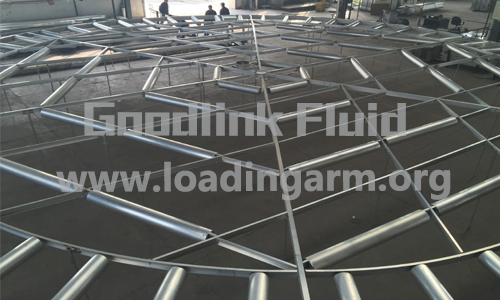 components of internal floating roof