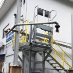 truck and railcar loading access gangway 02