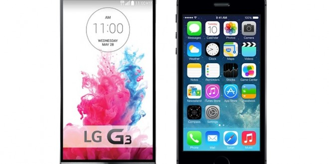 iPhone 6 vs LG G3 – The upcoming smartphone battle of the year