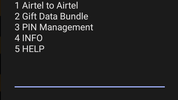 Airtel Transfer Code