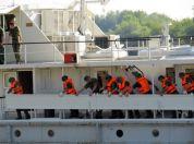 """vežba rečne flotile """"Plavi odgovor 2014"""""""