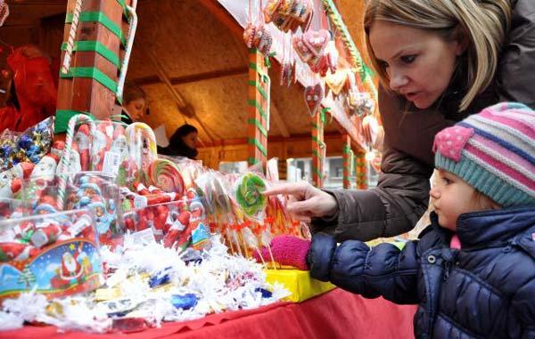 Doček  2015.pravoslavne Nove godine u kod Hrama 12.1.2015
