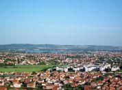 Panorama leve obale Dunava - Leva obala iz vazduha, Borča iz vazduha