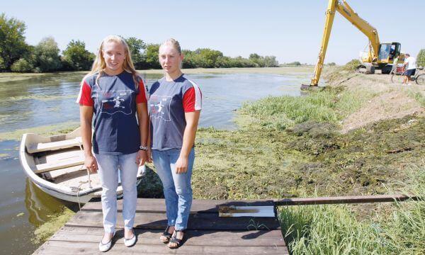 Borča - Sestre Moldovan srpske olimpijke u kajaku