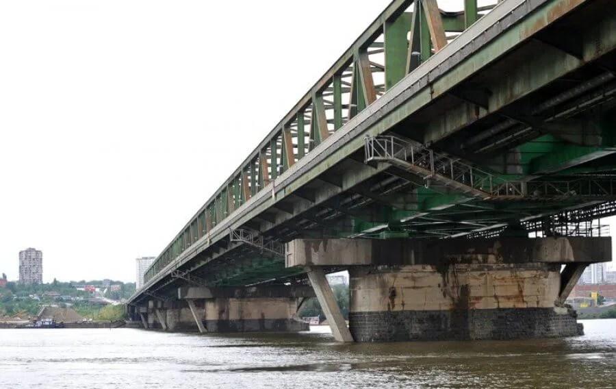 Skok sa Pančevačkog mosta