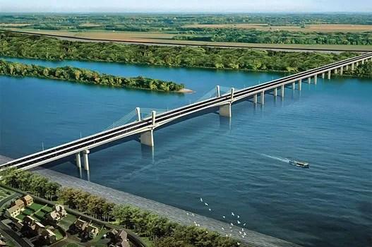 Most Borča Zemun - Kineski most - mostu Borča - Zemun