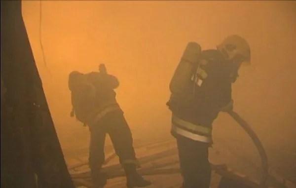 Sinoć izgorela kuća u Borči