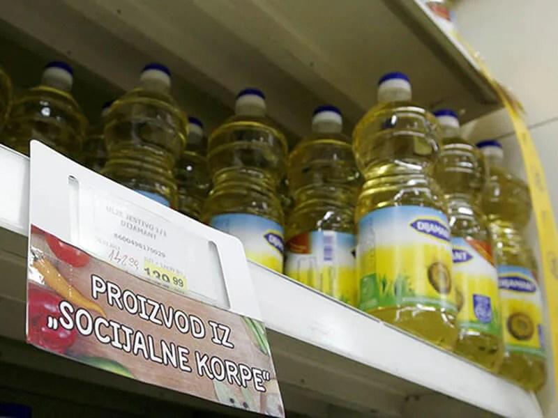 Niže cene proizvoda u socijalnoj korpi čak do 30 odsto - Lobi