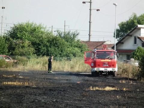 Požar na otvorenom prostoru u Centru 5 (Borča) – 10.07.2013