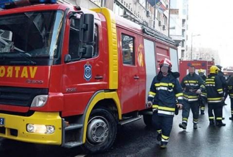 Izbio požar u magacinu dečijih igračaka u Krnjači