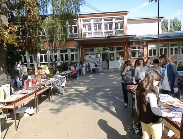 Sajam knjiga u osnovnoj školi Stevan Sremac u Borči – 13.10.2013