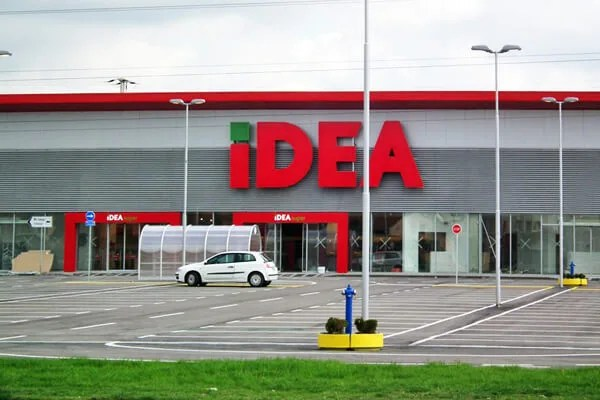 Otvaranje Idea Super u Borči 10. aprila 2014
