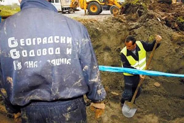Ovča i Borča bez vode zbog pucanja uličnih cevi!