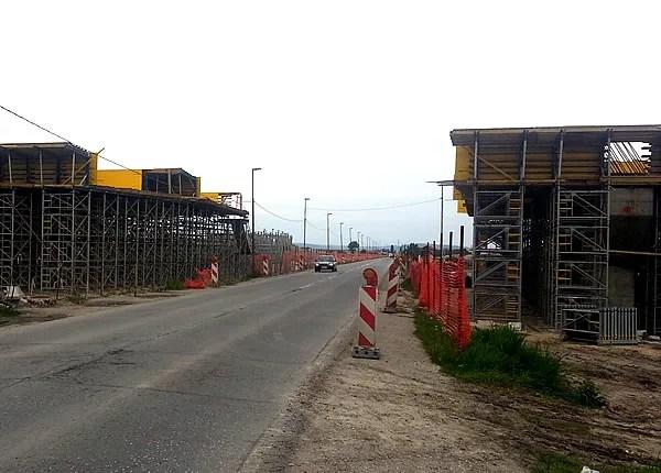 Zbog radova na petlji izmenjenen režim saobraćaja na Zrenjaninskom putu - 2014