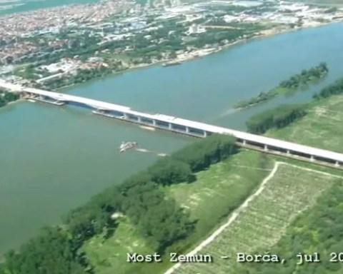 EKSKLUZIVNO: Most Zemun – Borča iz vazduha 2014