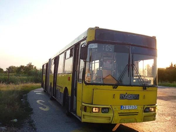 GSP autobus linija 105