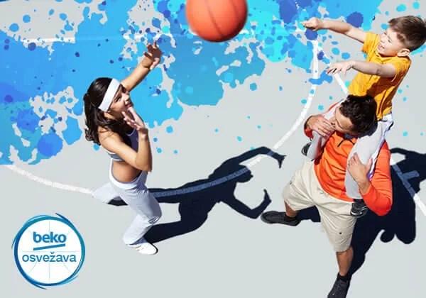 Beko osvežava košarkašte terene, glasajmo za naš u Centru 5 - 2014