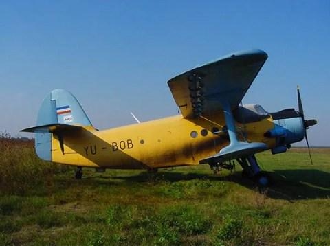 Avion za prskanje komaraca - LOBI