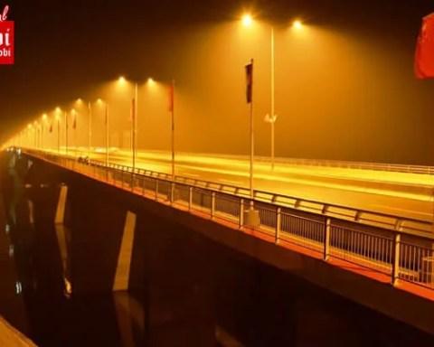 Pupinov most noću 18.12.20114