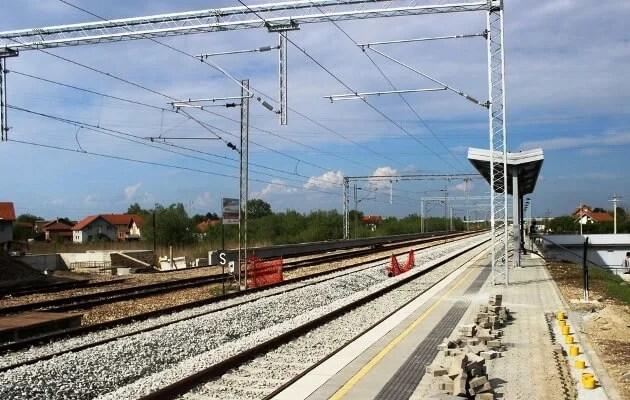 Krađa dela pruge između Krnjače i Ovče - 2015