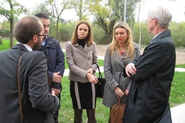 Nemački novinari obišli romske porodice u Jabučkom ritu -2015