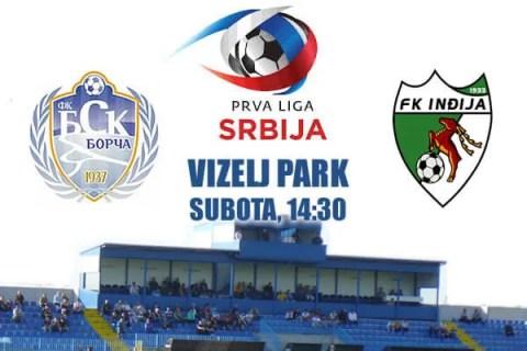 Danas BSK Borča igra protiv FK Inđija - 2016
