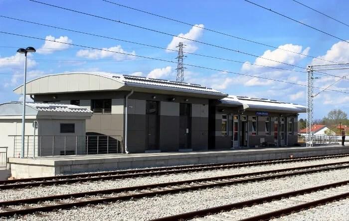 Stanica BG voza u Krnjači