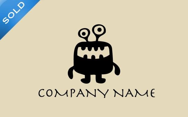 cute monster logo for sale