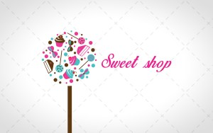 sweets logo for sale