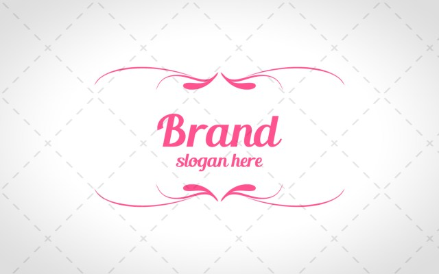 pretty boutique logo for sale