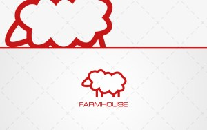 farm Sheep Logo For Sale