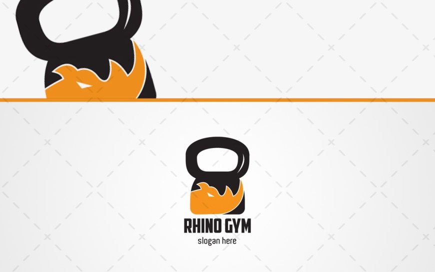 crossfit rhino logo for sale