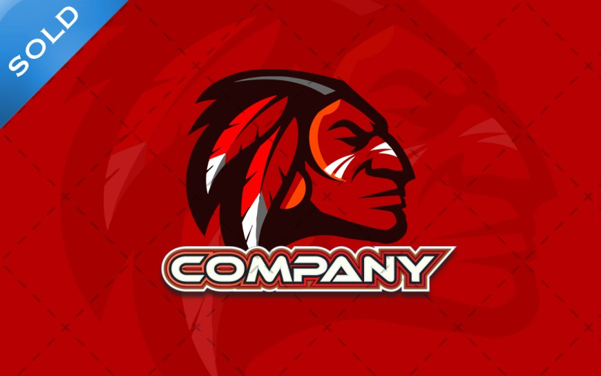 indian chief logo for sale