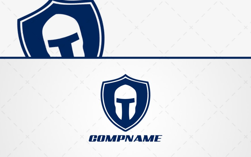 Spartan Helmet Logo For Sale