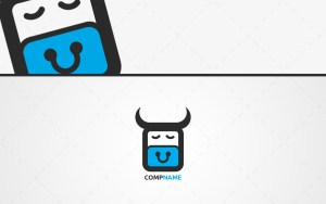 Cute ox logo for sale