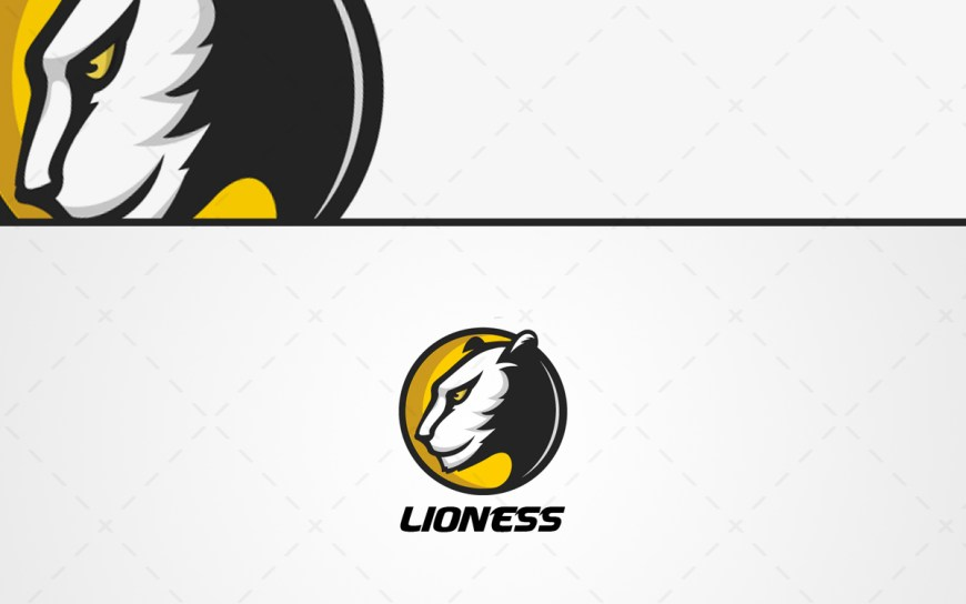 lioness logo for sale