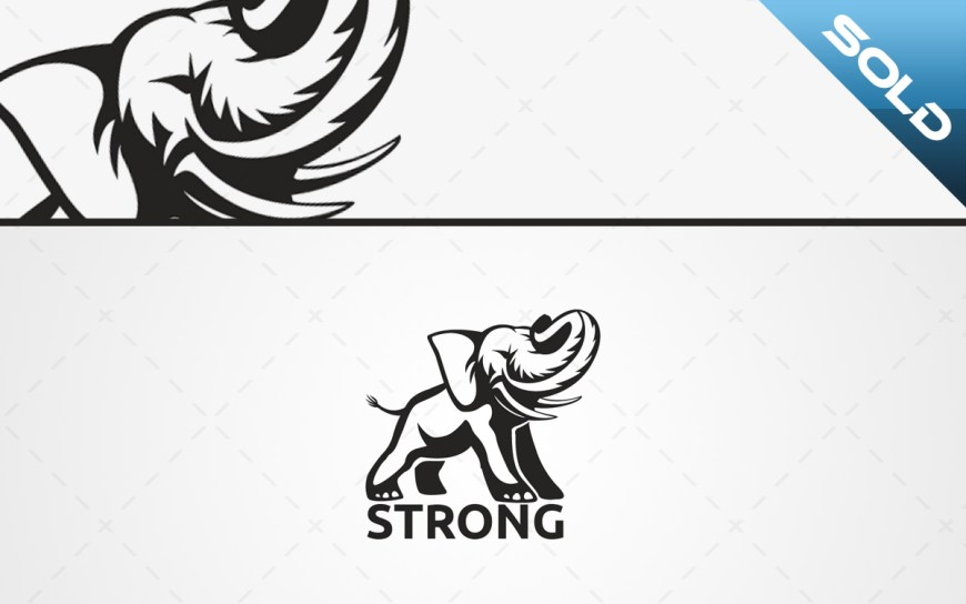 Elephant logo for sale
