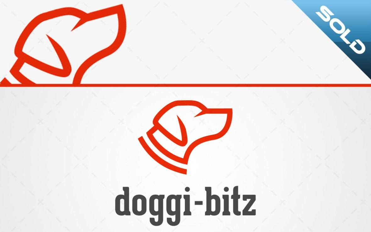 Dog Head Logo For Sale Online