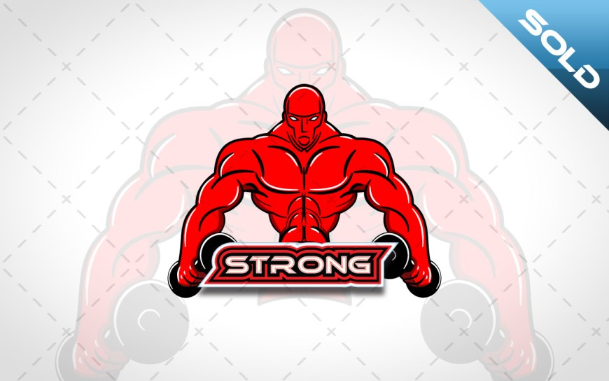 bodybuilding logo for sale