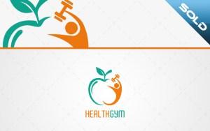 Health Gym Logo For Sale