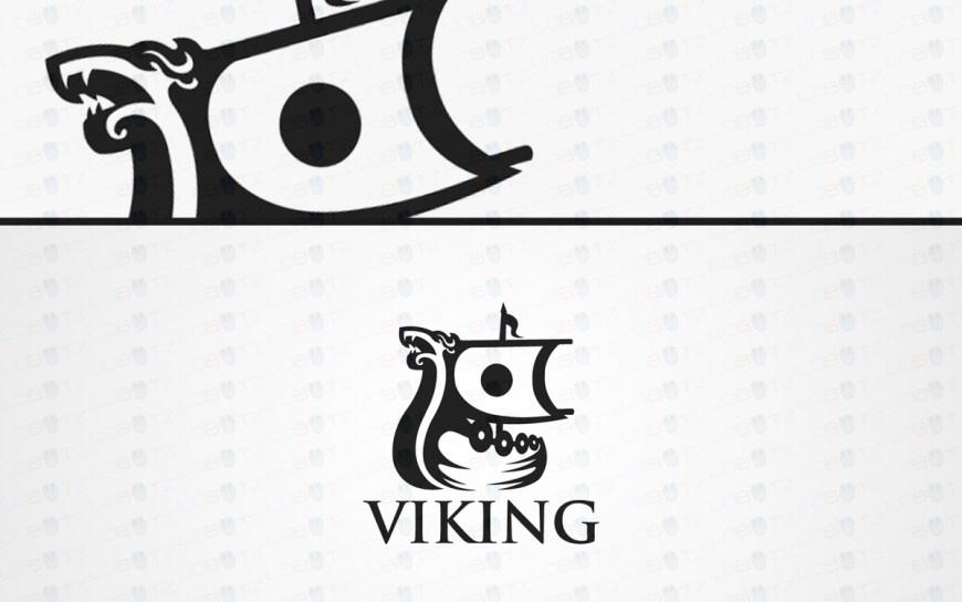 viking boat logo for sale