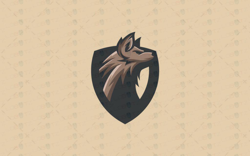 Gaming Logo | Wolf Mascot Logo For Sale