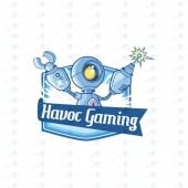 Gaming Logo | Robot Mascot Logo For Sale