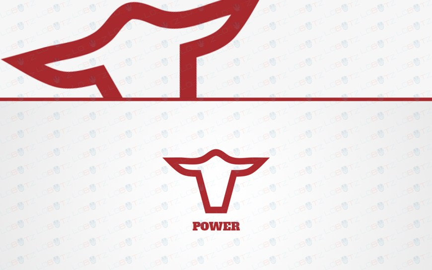 bull head logo for sale