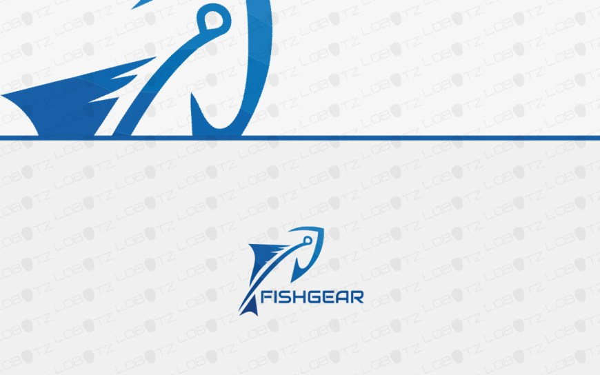 fishing logo for sale